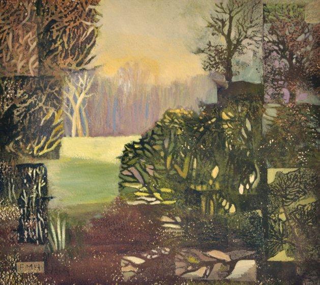 Morning Hedgerow. Original art by Fran Hillman