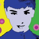 Audrey Hepburn. Original art by Ashlie Urquhart