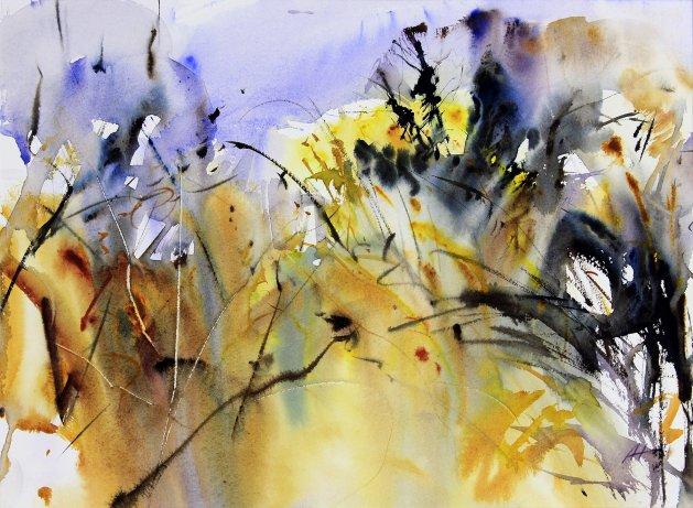 November Morning. Original art by Adrian Homersham