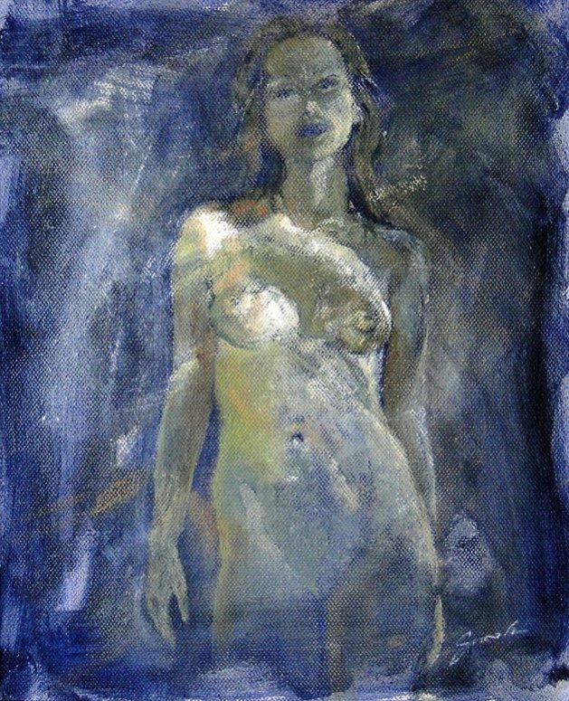 Winter Light. Original art by David Snook