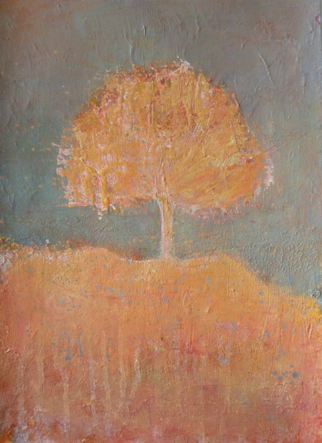 The Chill of Autumn. Original art by Fiona Philipps