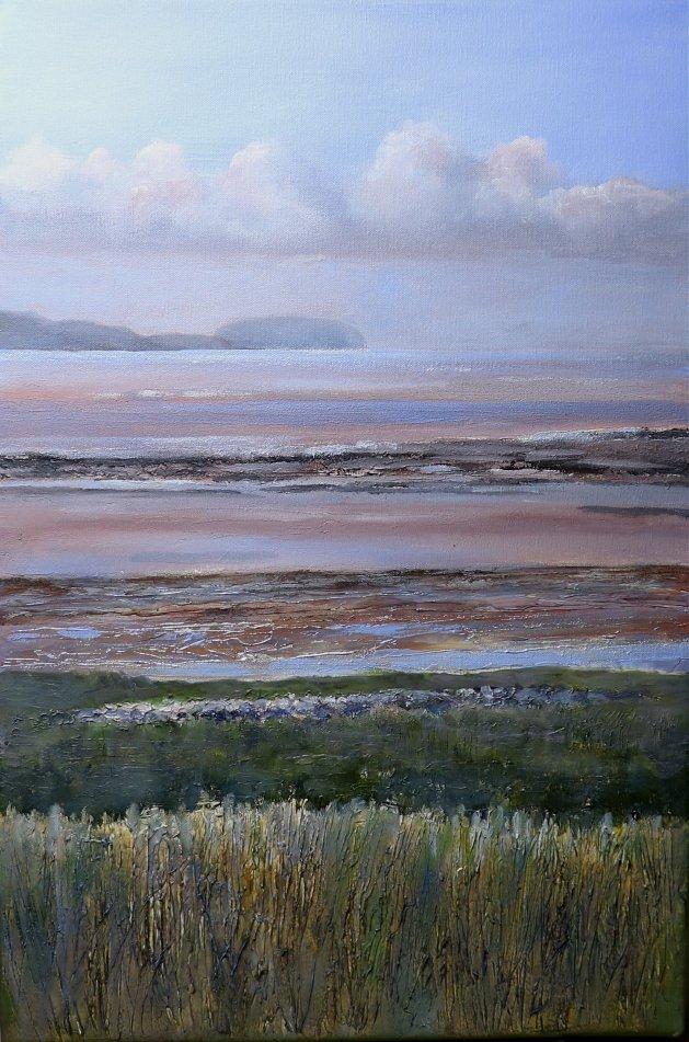 Coast. Original art by Christine Derrick