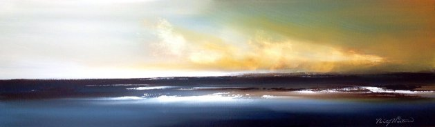 Breaking Away (panoramic). Original art by Verity Westwood
