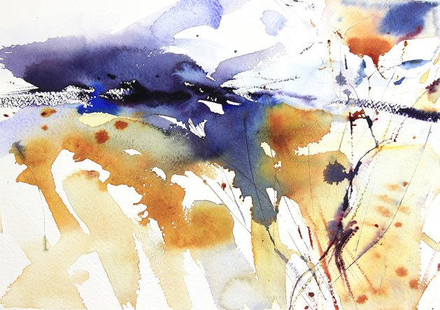 Early March. Original art by Adrian Homersham