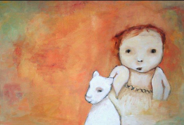 Fleece as White as Snow. Original art by Lee McConville