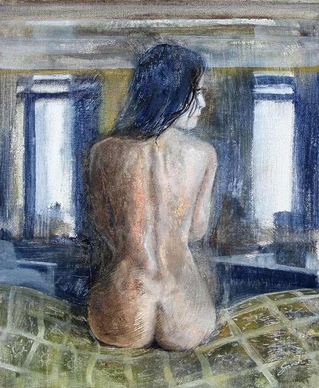 Pose 29*. Original art by David Snook