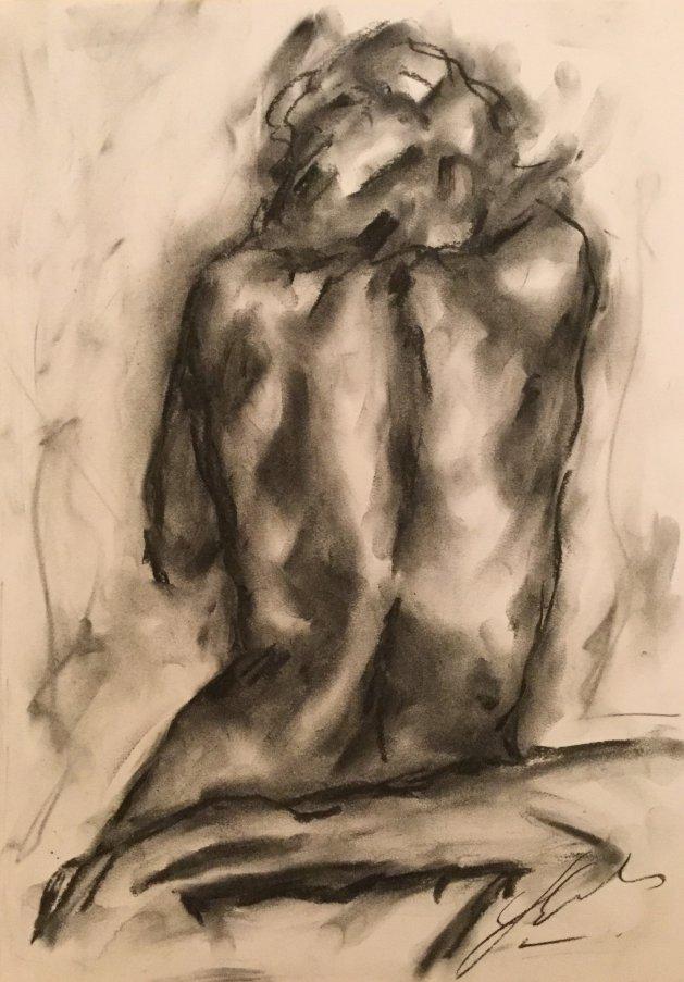 Pandiculation. Original art by James Shipton