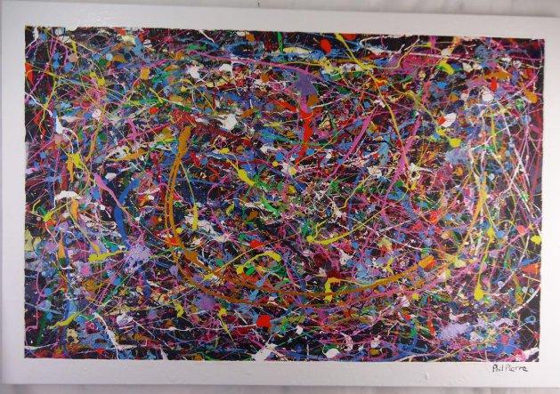 BUBBLE GUM 406. Original art by Phil Pierre