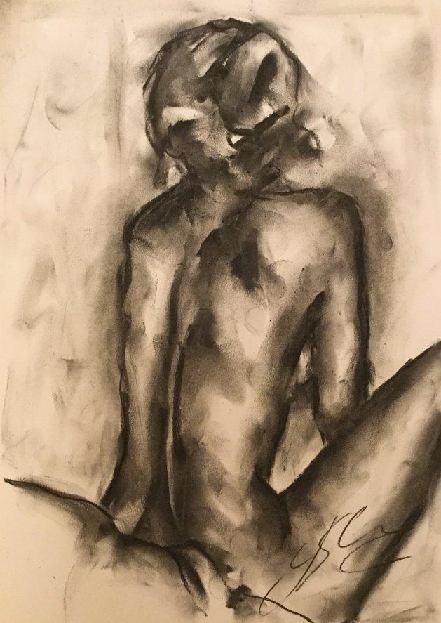 Hear your voice. Original art by James Shipton