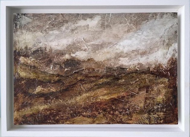 Wild Landscape. Original art by Peter Taylor