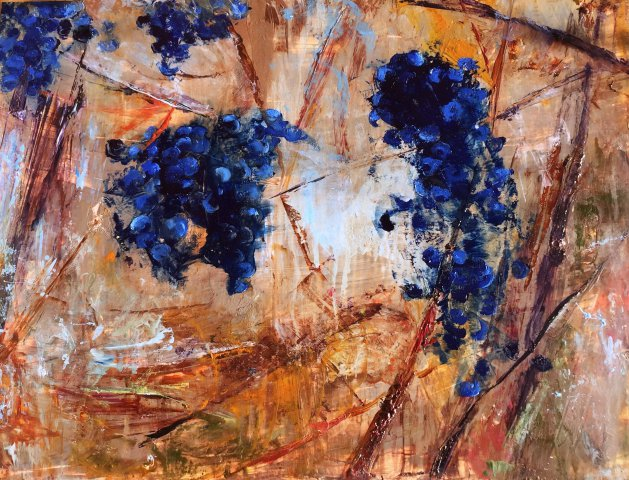 Grapevine. Original art by Alena Rumak