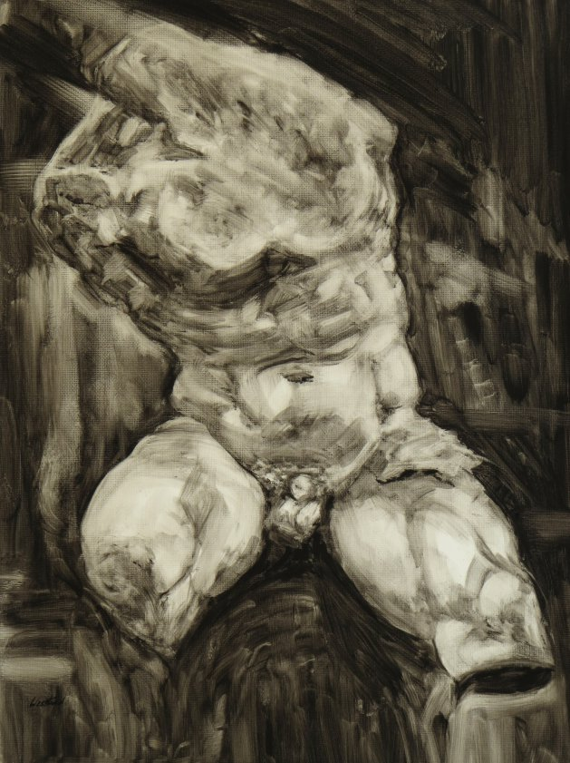 Sculpture series, no.2. Original art by Jacqueline Westland