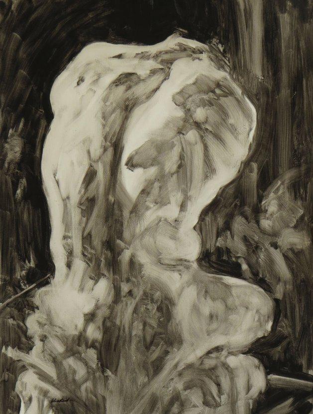 Sculpture series, no.1. Original art by Jacqueline Westland