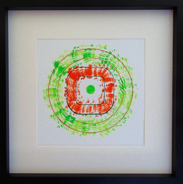 Square Peg. Original art by Paul Cornish