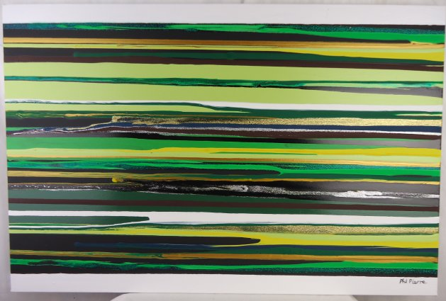 Stripes 105. Original art by Phil Pierre