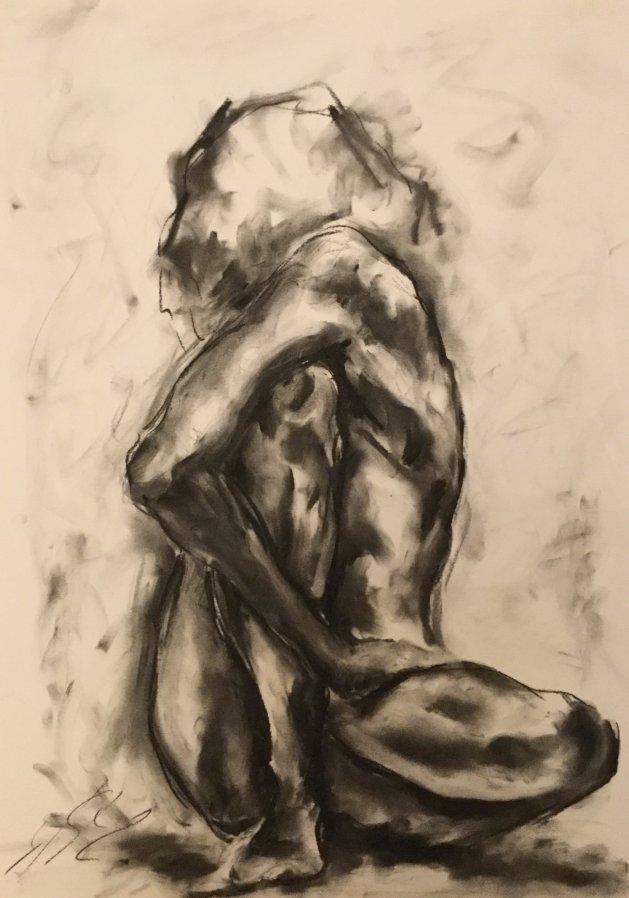 Shapes. Original art by James Shipton