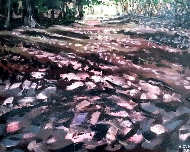 Forest Floor. Original art by Andi Williams