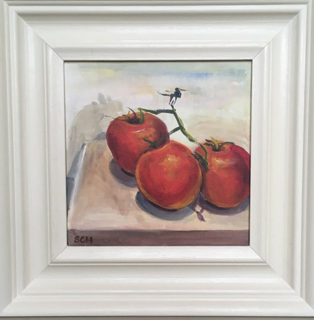 Tirion Tomatoes. Original art by Sarah Nesbitt