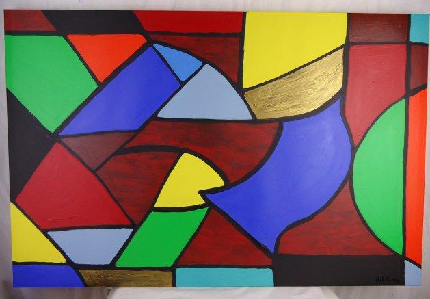 Solids 026. Original art by Phil Pierre