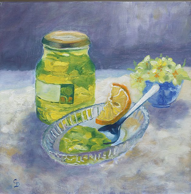 Lime Marmalade. Original art by Christine Derrick