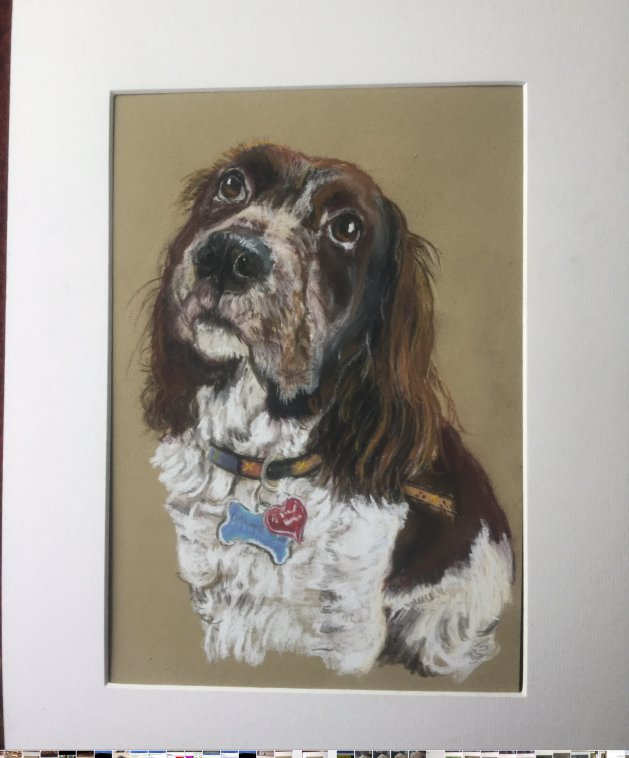 One more treat please. Original art by Mags Keane