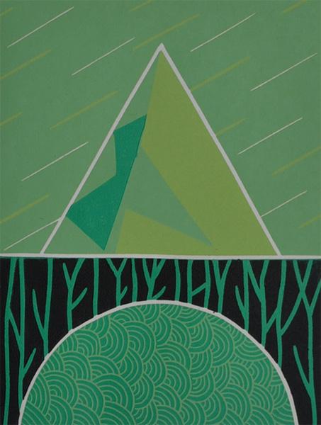 Escape From The Emerald Kingdom. Original art by Julian Davies