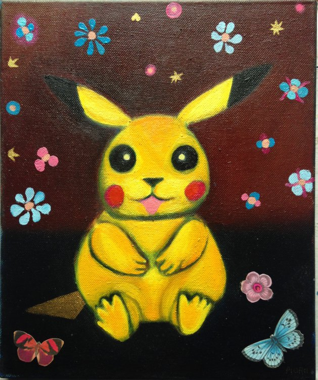 Pokémon. Original art by M. A. Pioro