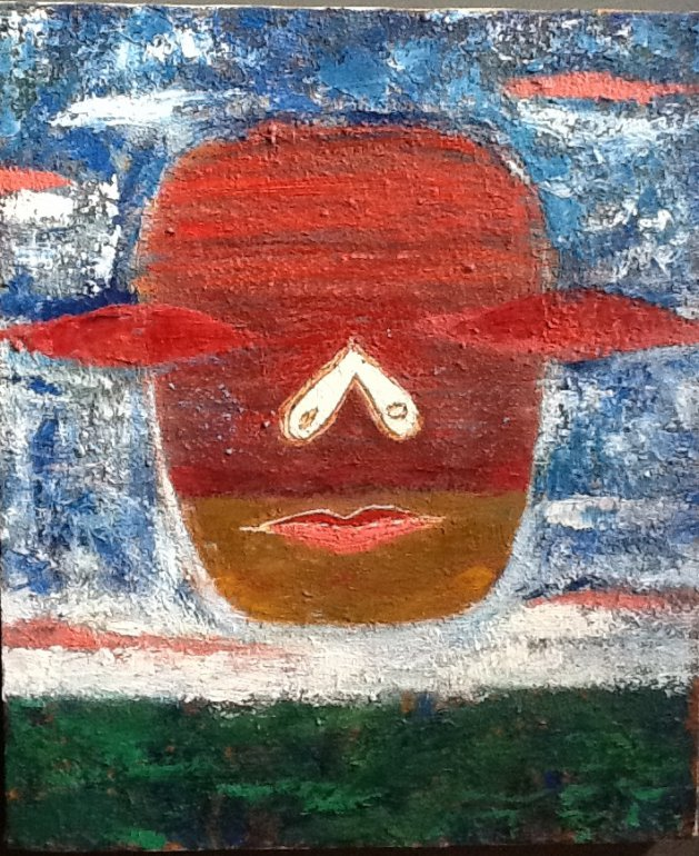 Nebulous Head. Original art by M. A. Pioro