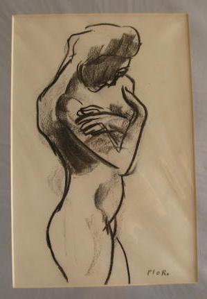 Self Embrace. Original art by M. A. Pioro