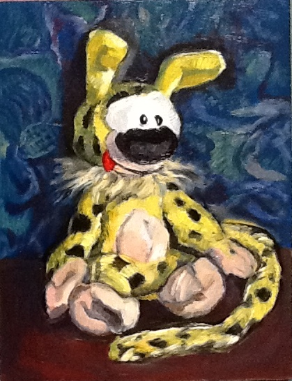 Marsupilami. Original art by M. A. Pioro