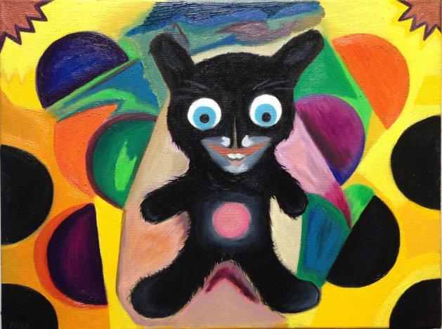 Crazy Ted. Original art by M. A. Pioro