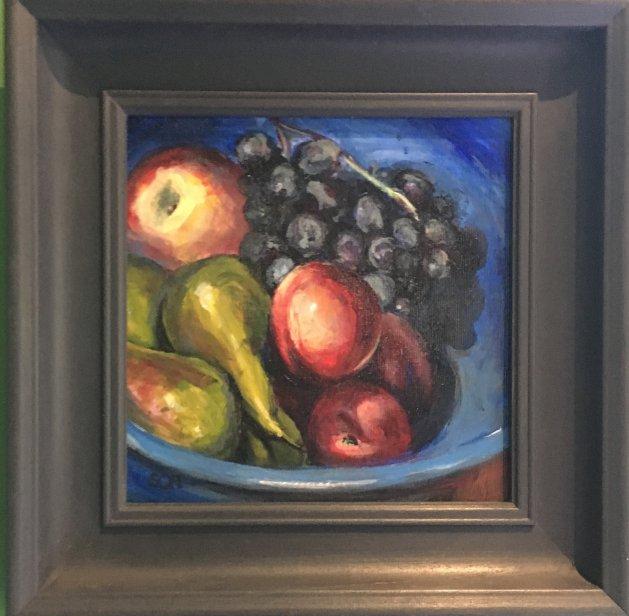 the Fruit Bowl. Original art by Sarah Nesbitt