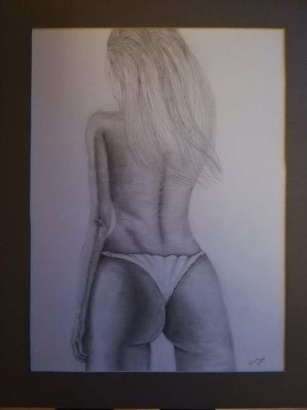 Lady. Original art by Nick Gray