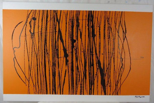 String 112. Original art by Phil Pierre