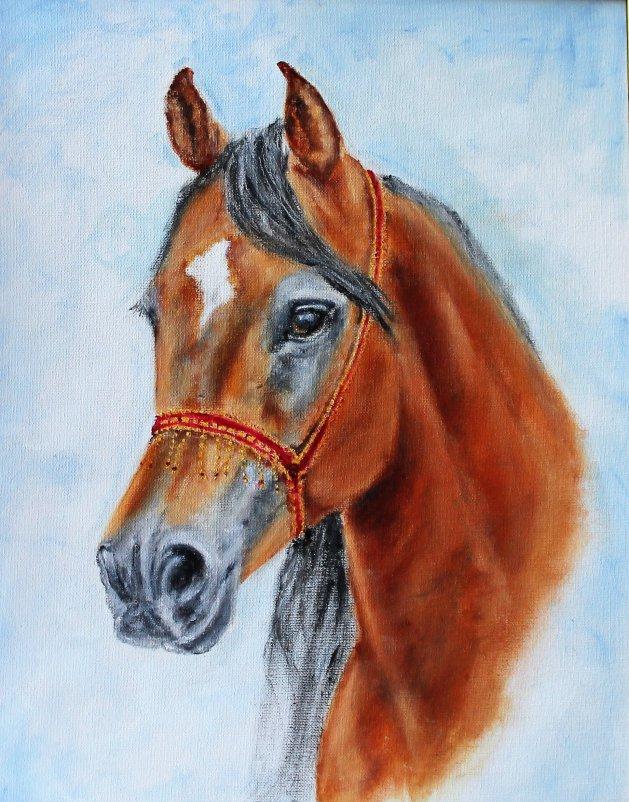 The Arab Colt. Original art by Sarah Green