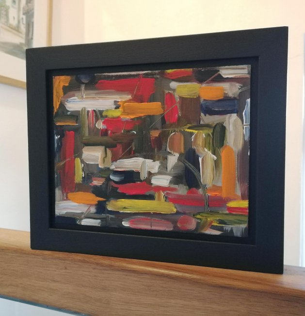 Original Abstract Acrylic Painting – by Peter Taylor. Original art by Peter Taylor