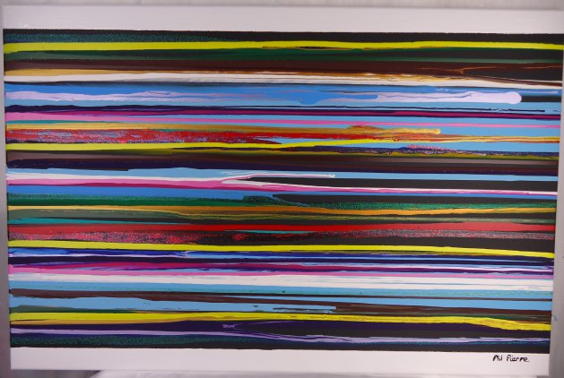 Stripes 112. Original art by Phil Pierre