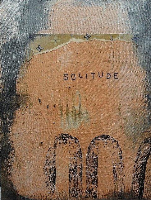 Solitude. Original art by Bea Roberts