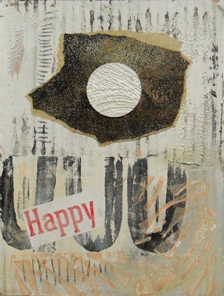 Happy. Original art by Bea Roberts
