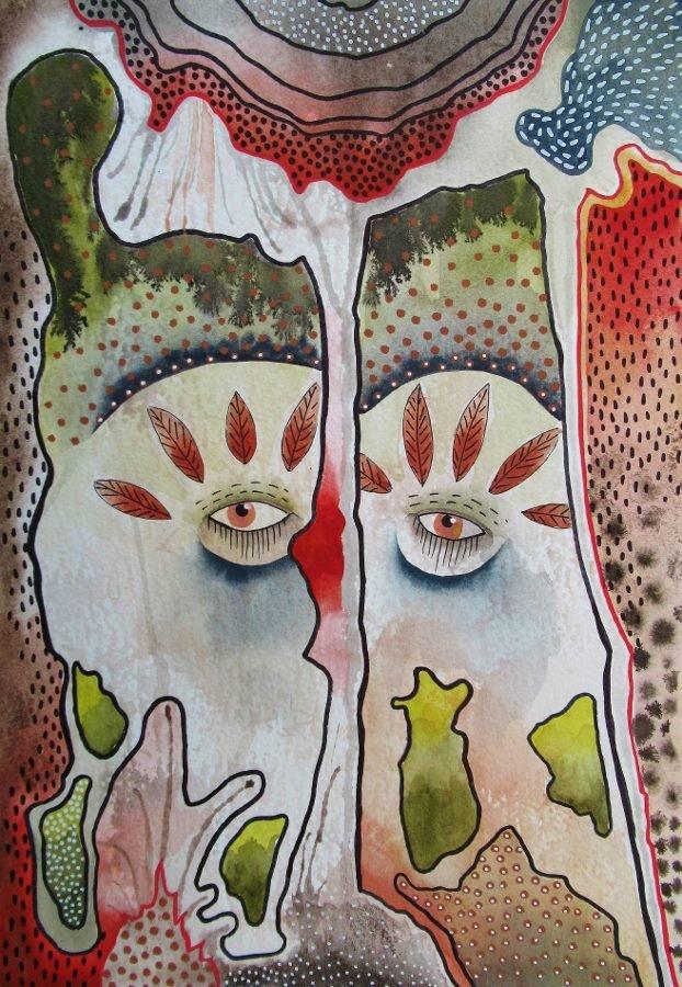 You See Me. Original art by Bea Roberts
