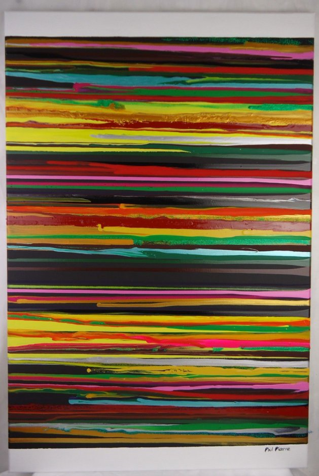 Stripes 110. Original art by Phil Pierre