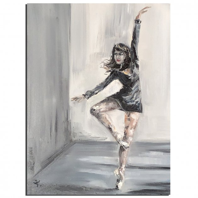 Dancing Girl. Original art by Tanya Stefanovich
