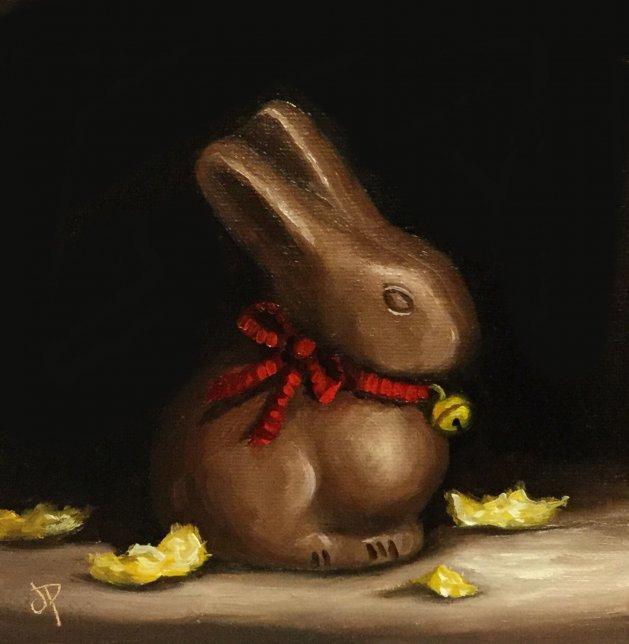 Naked Bunny #2. Original art by Jane Palmer