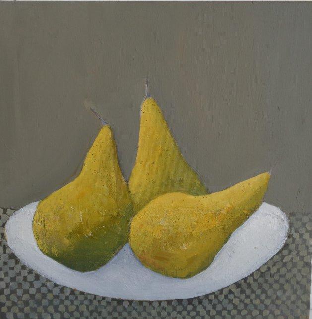 Pears. Original art by Fiona Philipps