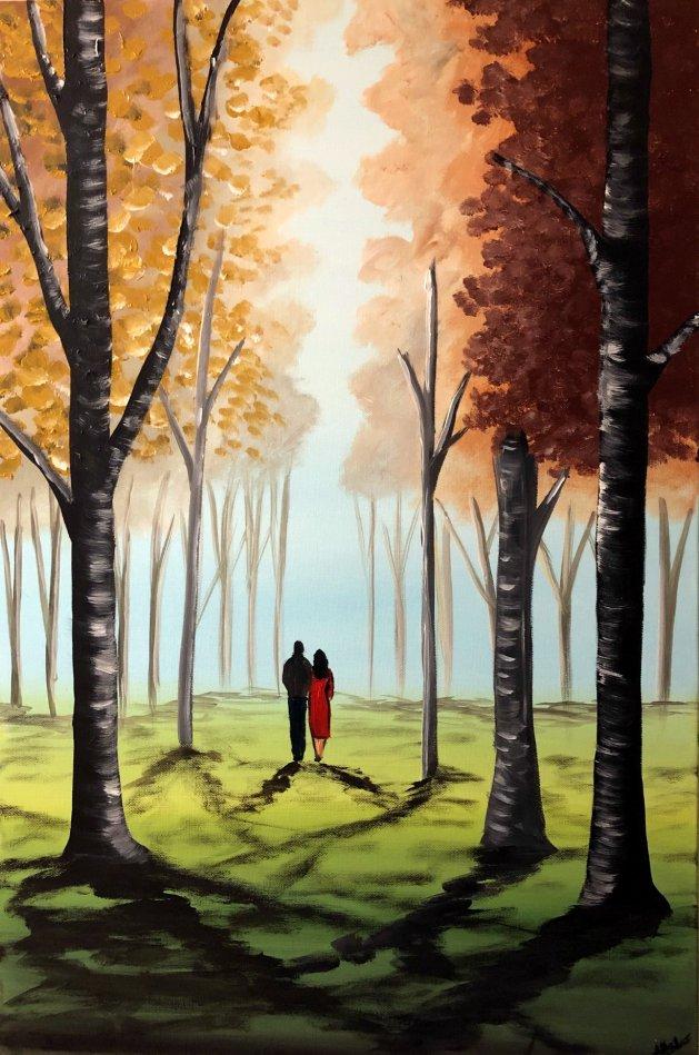 Autumn Dreams 4. Original art by Aisha Haider