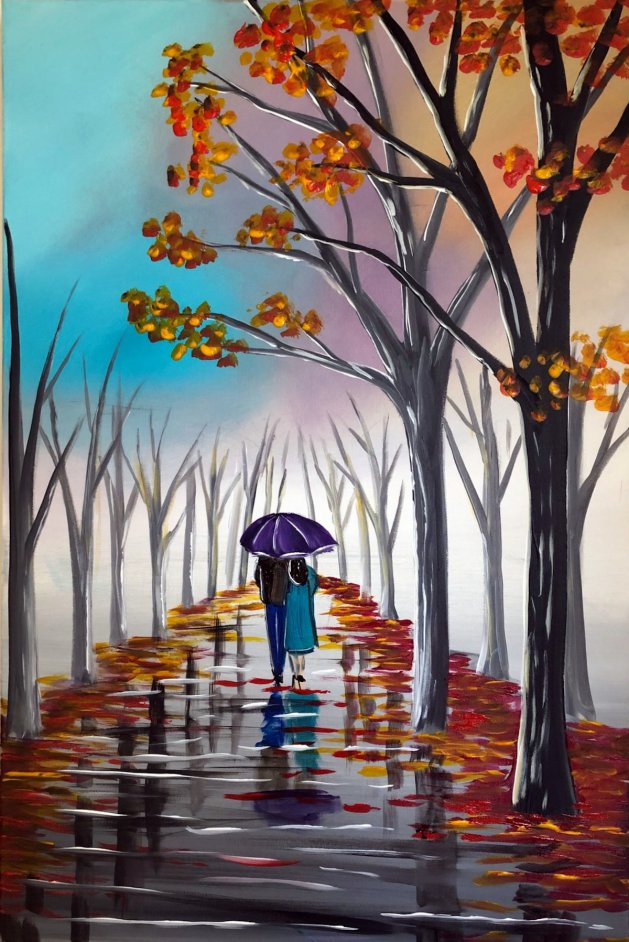 Autumn Wonder 2. Original art by Aisha Haider