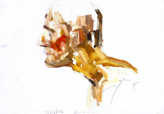 Life Study No 51. Original art by Ian McKay