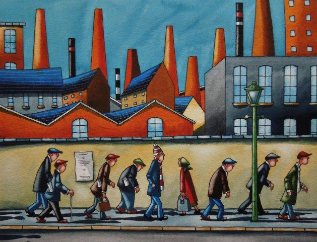 """"""" Journey Home """". Original art by Paul Kiernan"""