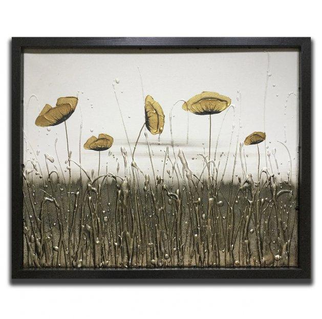 Golden Flora. Original art by C.A. Wood