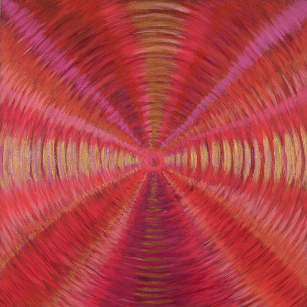 Pink Vortex. Original art by marion